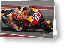 Marc Marquez Greeting Card