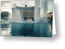 November 2017 Las Vegas Nv - Hotels And Restaurants On Las Vegas Greeting Card