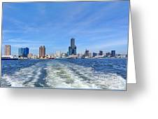 Panoramic View Of Kaohsiung City Greeting Card