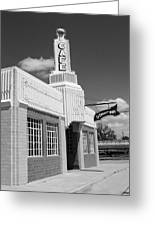 Route 66 - Conoco Tower Station Greeting Card