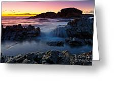 Second Valley Sunset Greeting Card