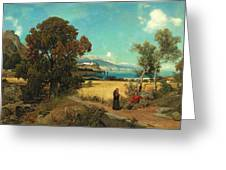 Sicilian Scene Greeting Card
