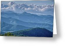 Springtime In The Blue Ridge Mountains Greeting Card