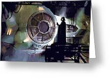 Star Wars Episode 5 Poster Greeting Card