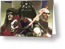 Star Wars For Poster Greeting Card