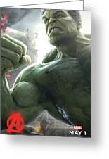 The Avengers Age Of Ultron 2015 Greeting Card