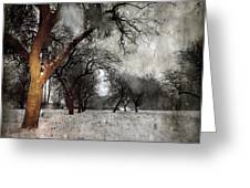 The Winter Time Greeting Card