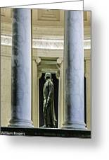 Thomas Jefferson Memorial Greeting Card