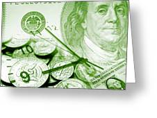Time Is Money 16 Greeting Card