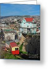 Valparaiso, Chile Greeting Card