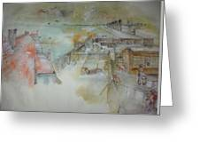 Van Gogh In Chinese Style Album Greeting Card
