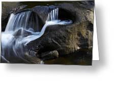 Water Flowing Greeting Card