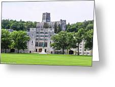 West Point Chapel Greeting Card