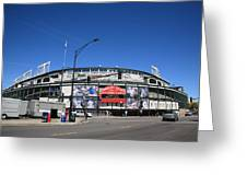 Wrigley Field - Chicago Cubs Greeting Card