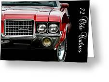 72 Olds Cutlass Greeting Card