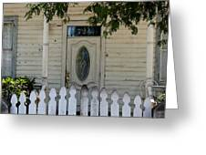 724 Key West Door Greeting Card