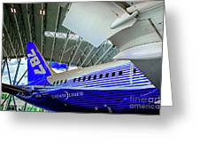 787 Tail Section Greeting Card