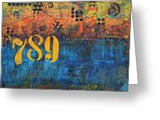 789 Street Blues Greeting Card