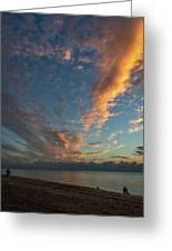 7972- Miami Beach Sunrise Greeting Card