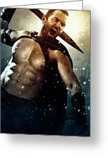 300 Rise Of An Empire 2014 Greeting Card
