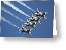 Air Show Greeting Card