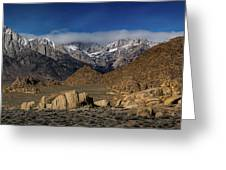 Alabama Hills, Ca Greeting Card