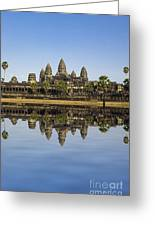 Angkor Wat Greeting Card by MotHaiBaPhoto Prints