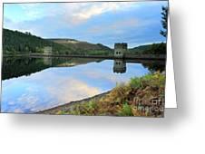 Autumn Derwent Reservoir Derbyshire Peak District Greeting Card