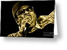 Bobby Womack Collection Greeting Card