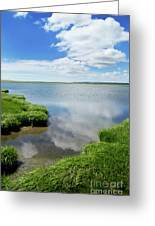 Cape Cod Salt Pond Greeting Card