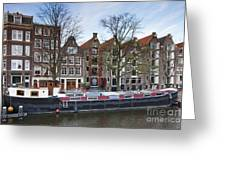 Channels Of Amsterdam Greeting Card