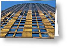 City Of Charlotte, Nc Architecture Greeting Card by Patrick M Lynch
