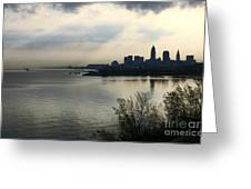 Cleveland City Skyline Greeting Card