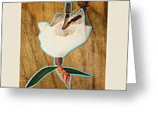 Fashion Fleurward  Greeting Card