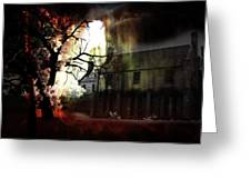 8 Ghosts Greeting Card