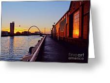 Glasgow, Scotland Greeting Card