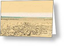 Gordon Beach, Tel Aviv, Israel Greeting Card