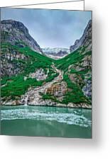 Inside Passage Mountain Views Around Ketchikan Alaska Greeting Card
