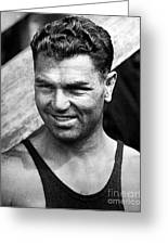Jack Dempsey (1895-1983) Greeting Card