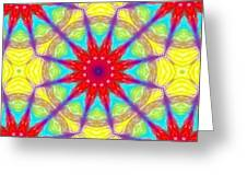 Kaleidoscope 4 Greeting Card