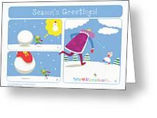 Katamari Damacy Greeting Card