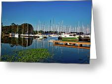 Lake Guntersville Alabama Greeting Card