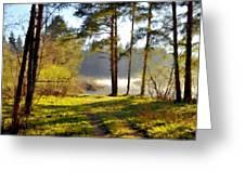 Landscape Jobs Greeting Card