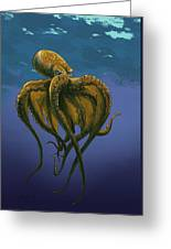8 Legs Of The Sea Greeting Card