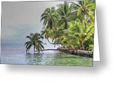 Moorea Tahiti Greeting Card