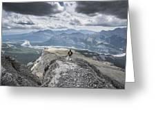 Mount Black Rock Greeting Card
