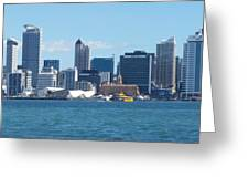 New Zealand - The Sea Heart Of Auckland Greeting Card