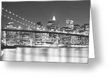 Nyc, New York City, New York State, Usa Greeting Card