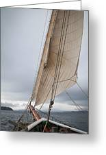 Rigg Of A Tall Ship Greeting Card