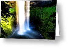 Salt Creek Falls Greeting Card